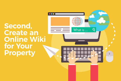 Create an Online Wiki for Your Property